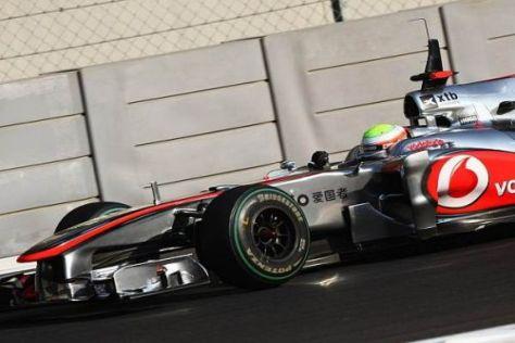 Oliver Turvey saß bereits probeweise im McLaren, hat aber kein Budget für 2011