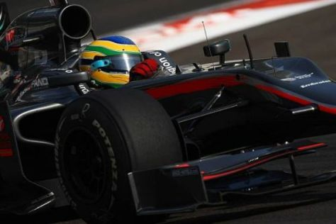 Bruno Senna wird 2011 wohl nicht mehr ins Lenkrad eines HRT-Boliden greifen...