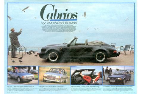 19 Cabrios im Überblick