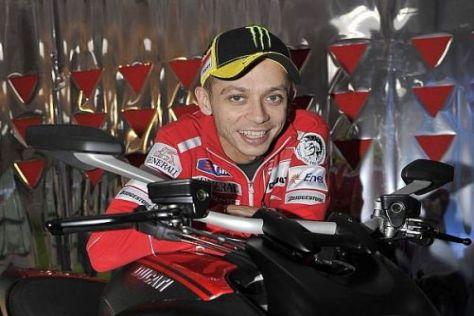 Valentino Rossi soll bei Ducati mit entwickeln und die Marke stärken