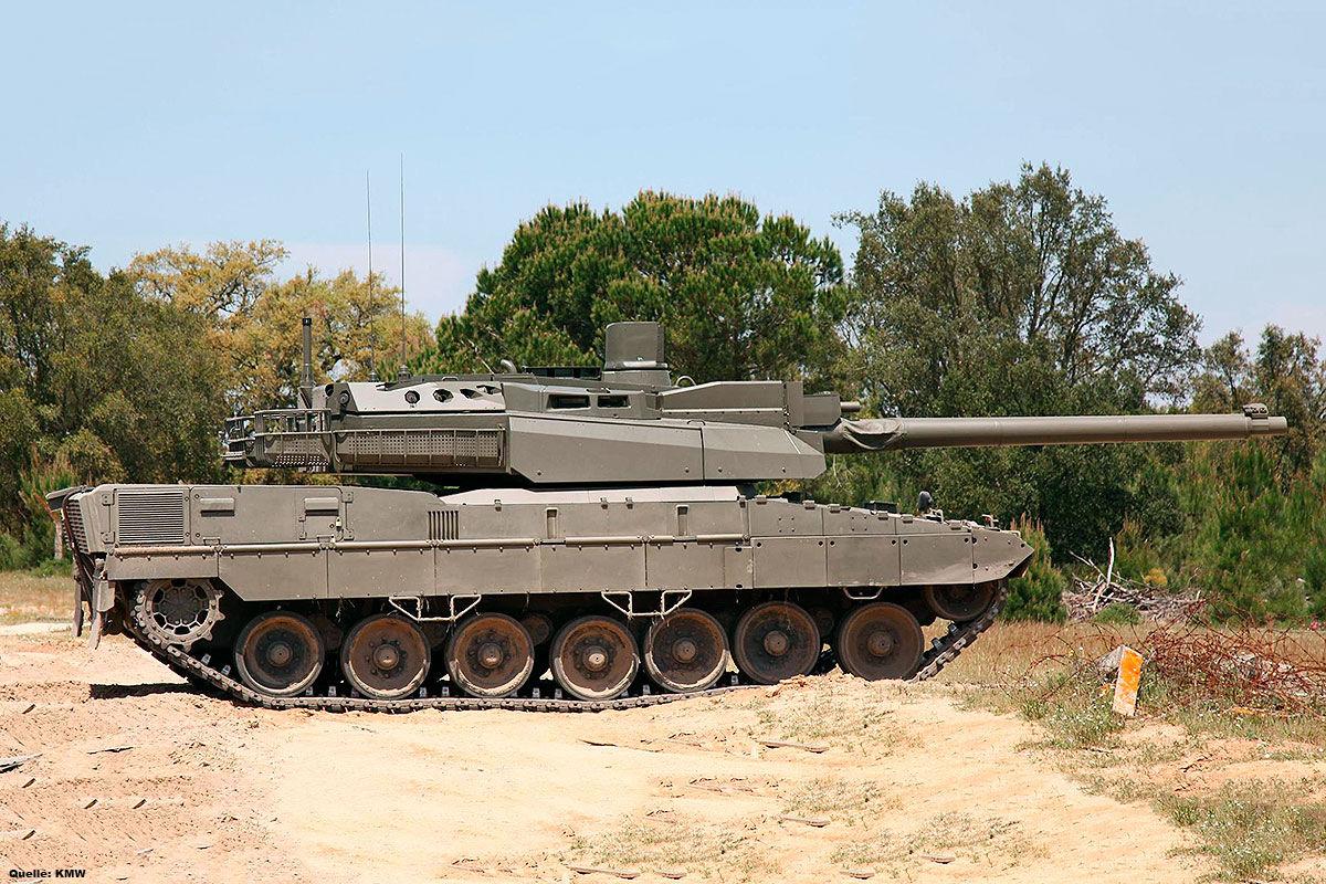 Panzer und Kettenfahrzeuge der Bundeswehr
