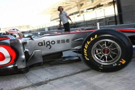 McLaren geht mit einem Übergangsauto in die Testsaison 2011