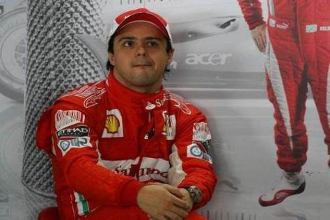 Felipe Massa steht gehörig unter Druck: 2011 muss deutlich besser werden