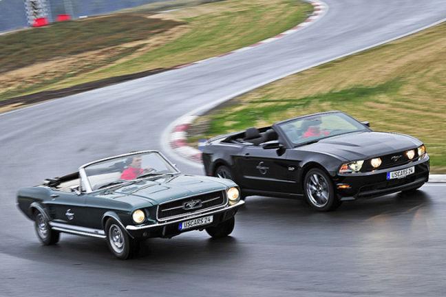 Video: Vergleich Ford Mustang jung gegen alt