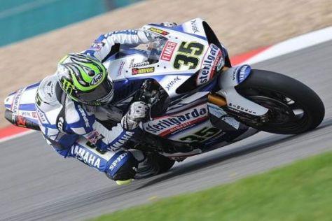 Cal Crutchlow - hier in der Superbike-WM 2010 - steigt 2011 in die MotoGP-WM ein