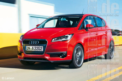 Audi A2 Illustration