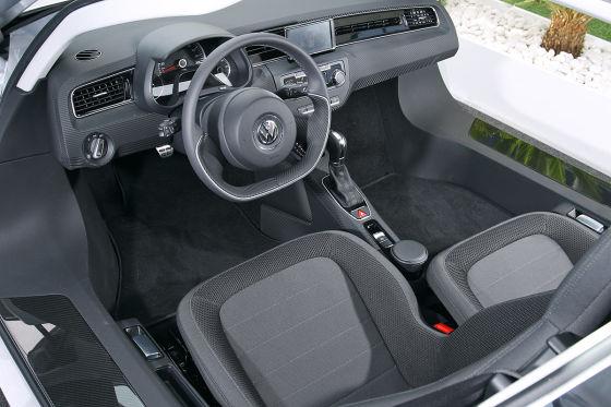 VW XL1 Cockpit
