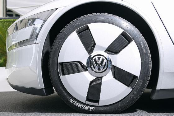VW XL1 Scheibenrad