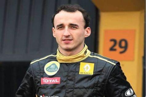 Robert Kubica blickt optimistisch in seine zweite Saison bei Renault