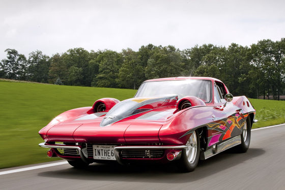Corvette Sting Ray Dragster (1963)