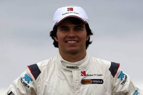Stolz: Sergio Perez hat sich seinen Traum von der Formel 1 erfüllt