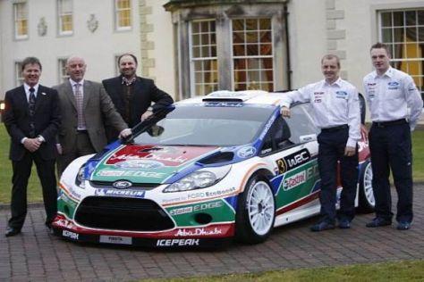 Der neue Ford Fiesta RS WRC ist bereit für den Saisonstart in Schweden