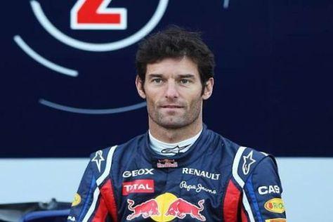 Mark Webber wirkt zum Auftakt der neuen Testsaison kampfeslustig