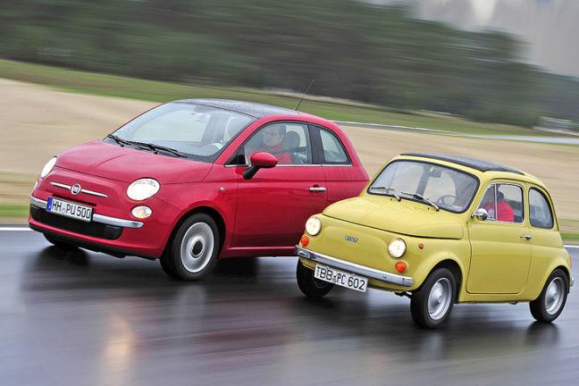 Video: Fiat 500 R gegen Fiat 500
