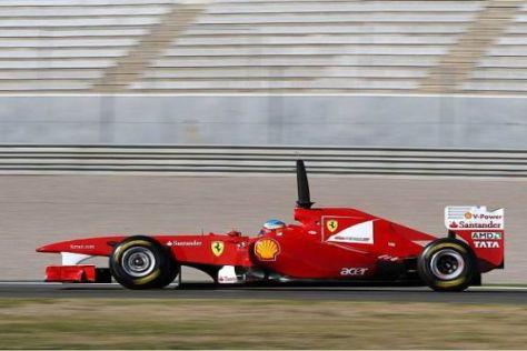 Fernando Alonso löste Sebastian Vettel an der Spitze des Klassements ab