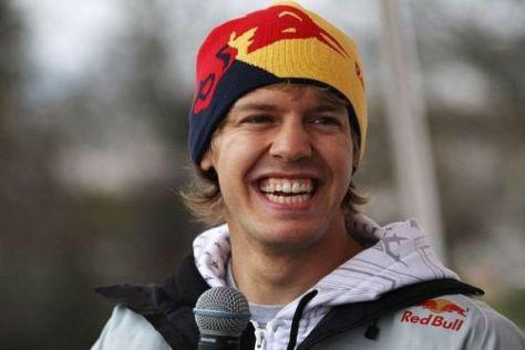 Sebastian Vettel kann auch einem strengen Fitnessprogramm einiges abgewinnen
