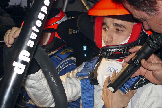 Sein Hobby wurde ihm zum Verhängnis: Robert Kubica startete in seiner Freizeit bei zahlreichen Rallyes.