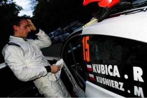 Mehrfach als Gaststarter dabei: Robert Kubica liebt den Rallyesport