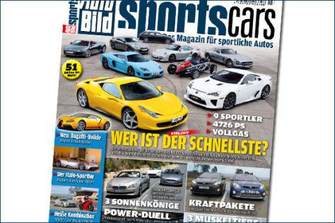 AUTO BILD SPORTSCARS 3/2011
