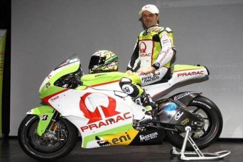 Loris Capirossi geht bereits in seine 22. Motorrad-WM-Saison