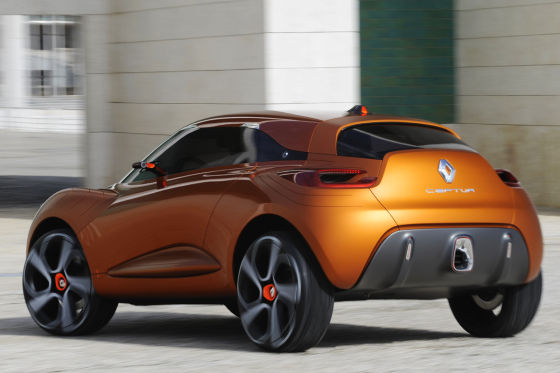 Renault Captur Studie
