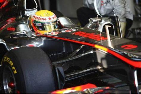Hamilton stand einige Zeit in der Garage, das Gefühl für den Neuen ist dennoch gut