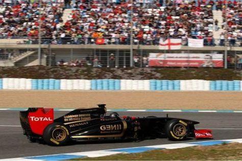 Nick Heidfeld hat sich gestern bei den Tests in Jerez hervorragend verkauft