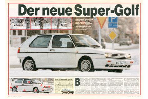 VW Golf syncro GT