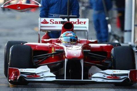 Fernando Alonso und Ferrari machten bei den Tests einen starken Eindruck