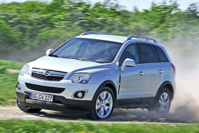 Opel Antara Facelift 2011: Video