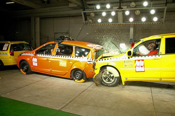 Heckcrash-Test (1): Renault Grand Scénic