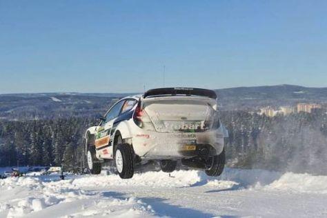 Mads Östberg war einer der Überflieger bei der Rallye Schweden