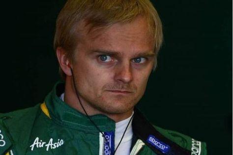 Kritischer Blick: Heikki Kovalainen über die bisherige Testform der Konkurrenz
