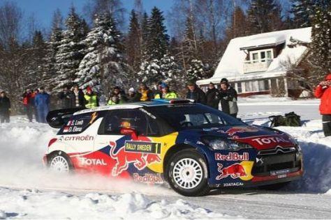 Sebastien Loeb musste in Schweden zwei Reifenschäden verzeichnen
