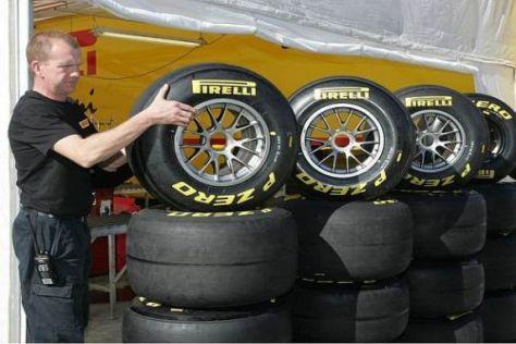Pirelli-Reifen in Barcelona: 2011 kehrt die italienische Marke in die Formel 1 zurück