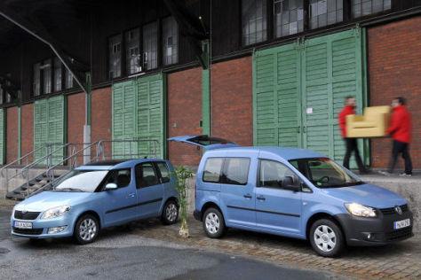 Skoda Roomster VW Caddy