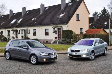 VW Golf Skoda Octavia