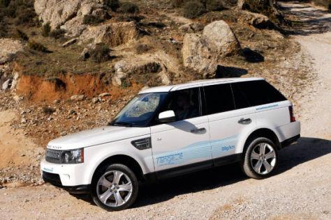 Range Rover Sport Studie Range-e
