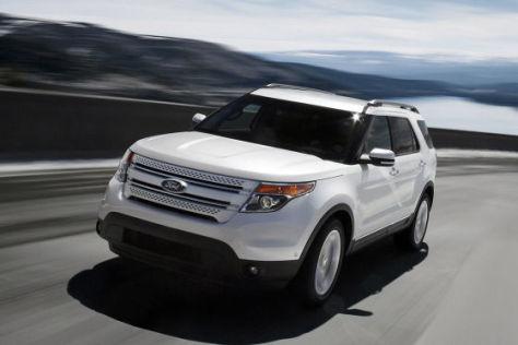 Ford Explorer 2011 Der Ami Kommt Nach M 252 Nchen Autobild De