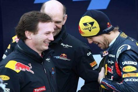 Vettel und Red Bull: Eine Romanze soll die Beziehung nicht gefährden