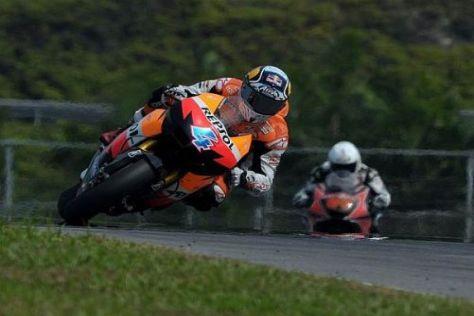 Loris Capirossi fuhr der Konkurrenz von Honda in Sepang deutlich hinterher