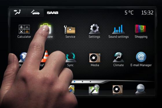 Saab IQon Infotainment Concept