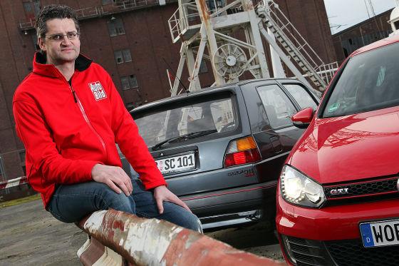 Gerald Czajka, VW Golf II GTI 16V und Golf VI GTI