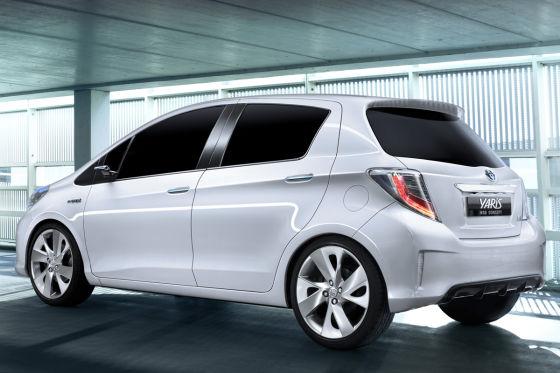 Toyota Yaris Hybrid Concept