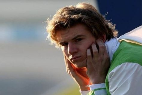 Nico Hülkenberg muss sich 2011 mit der Rolle des Zuschauers zufrieden geben