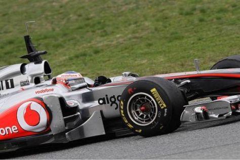 Jenson Buttons sauberer Fahrstil könnte 2011 zu einem kleinen Vorteil werden