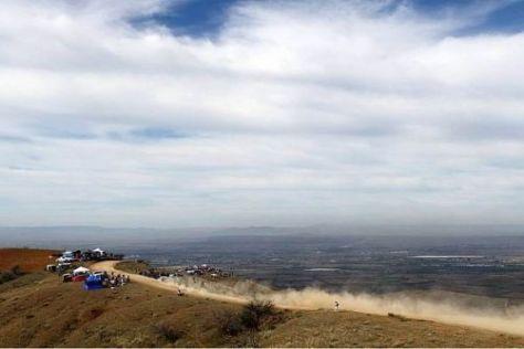 Bei der Rallye Mexiko führt die Route bis hinauf auf 2.700 Meter