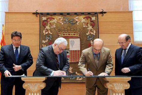 Hohe Politik kam zur heutigen Unterzeichnung des neuen Dorna-Vertrags
