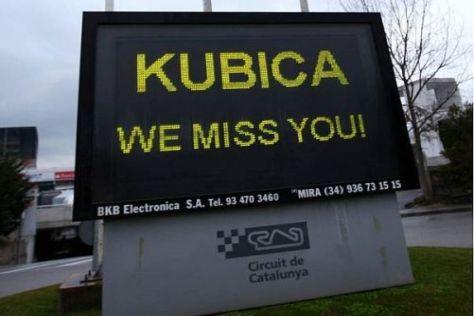 Die Formel-1-Gemeinde vermisst den schwer verunlückten Robert Kubica