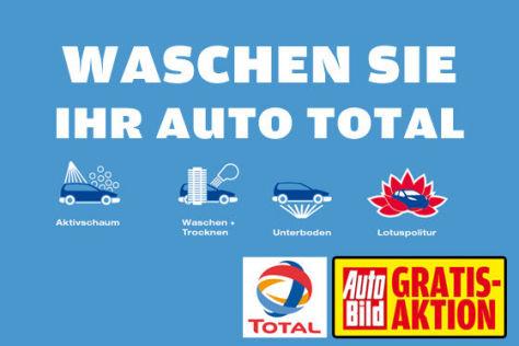 AUTO BILD Gartis Aktion Autowäsche